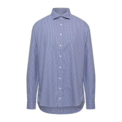 BASTONCINO シャツ ブルー 44 コットン 100% シャツ
