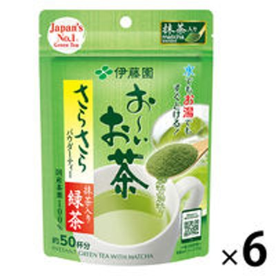 伊藤園【水出し可】伊藤園 おーいお茶 さらさら緑茶 1箱(40g×6袋)