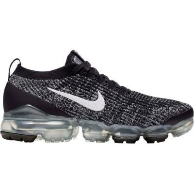 ナイキ Nike レディース ランニング・ウォーキング シューズ・靴 Air VaporMax Flyknit 3 Shoes Black/White Metallic