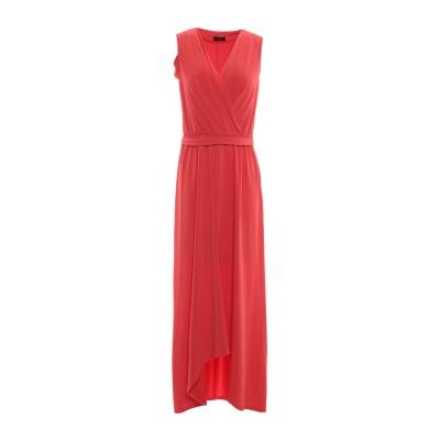 ペゼリコ PESERICO ロングワンピース&ドレス レッド 42 ポリエステル 93% / ポリウレタン 7% ロングワンピース&ドレス