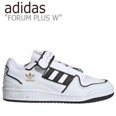 アディダス スニーカー adidas レディース FORUM PLUS W フォーラムプラス W WHITE ホワイト FY5223 シューズ
