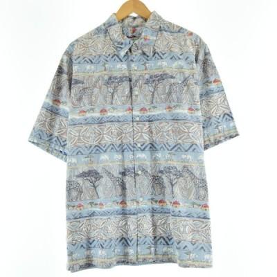 レインスプーナー アロハシャツ ハワイ製 XL /eaa050691