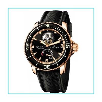 Blancpain Men's 5025.3630.52 Fifty Fathoms Tourbillon Rose Gold Watch【並行輸入品】