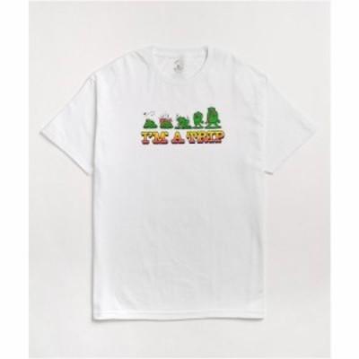 ティーンエイジ TEENAGE メンズ Tシャツ トップス Teenage Im A Trip White T-Shirt White