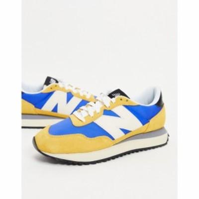 ニューバランス New Balance メンズ スニーカー シューズ・靴 237 trainers in yellow イエロー