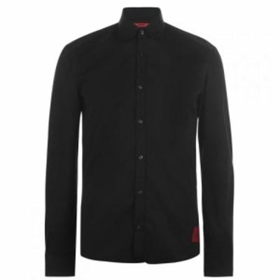 ヒューゴ ボス HUGO メンズ シャツ トップス Hugo Boss Ero 3 Shirt Black