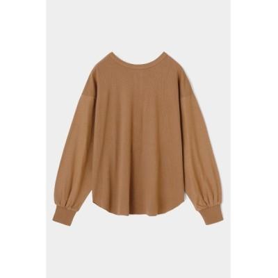 tシャツ Tシャツ BACK HENLEY NECK L/S トップス