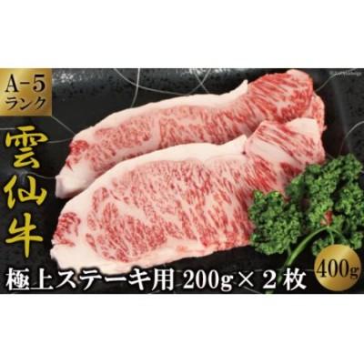 雲仙牛(A5ランク)サーロインステーキ(200g×2ケ)