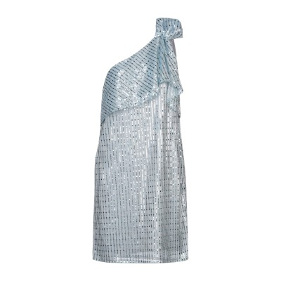 アレッサンドロデラクア ALESSANDRO DELL'ACQUA ミニワンピース&ドレス スカイブルー 44 ポリエステル 100% ミニワンピー