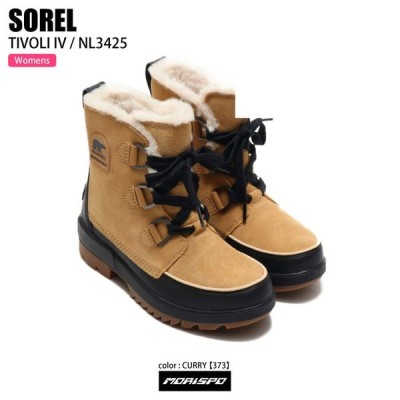 SOREL ソレル TIVOLI IV W ティボリIV NL3425 373 CURRY その他小物 スノトレ