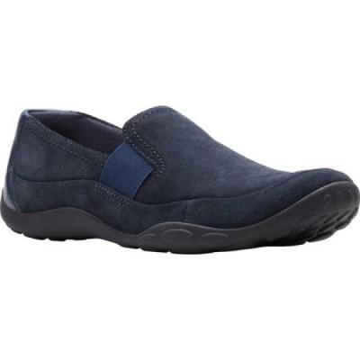 クラークス Clarks レディース ローファー・オックスフォード シューズ・靴 Haley Park Loafer Navy Suede
