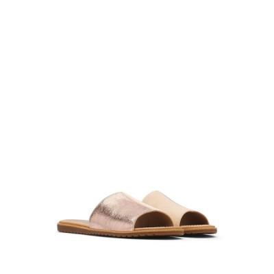 ソレル レディース サンダル シューズ Ella Block Slide Sandal NATURAL TAN