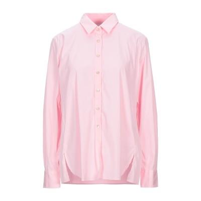 CALIBAN 820 シャツ ピンク 46 コットン 70% / ナイロン 27% / ポリウレタン 3% シャツ
