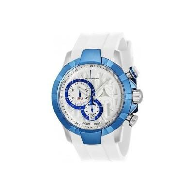 テクノマリーン TECHNOMARINE メンズ UF6 45ミリ シリコン バンド スチール ケース クォーツ 腕時計 TM-615013