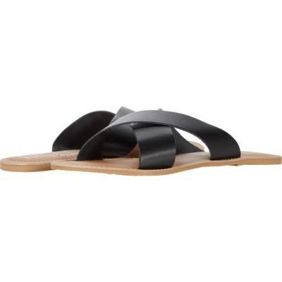 マチス Matisse レディース サンダル・ミュール シューズ・靴 Pebble Black Leather