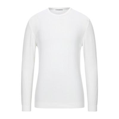 EXIBIT プルオーバー ホワイト XL コットン 100% プルオーバー