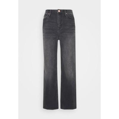 セカンド デイ デニムパンツ レディース ボトムス RAVEN THINKTWICE - Straight leg jeans - black denim