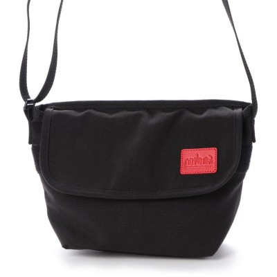 マンハッタンポーテージ Manhattan Portage CORDURA Waxed Nylon Fabric Collection Casual Messenger Bag (Black)