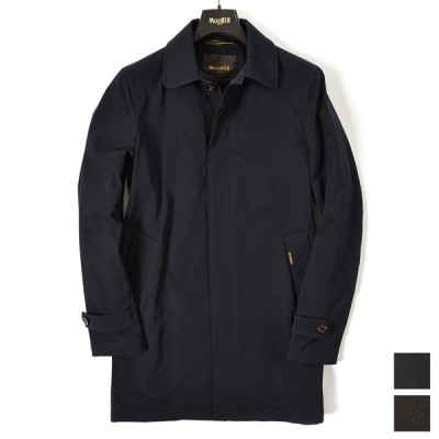 30%OFF ムーレー MOORER VITTOR DEM ステンカラー コート ミディアム丈 秋冬 春 3シーズン メンズ 2色展開
