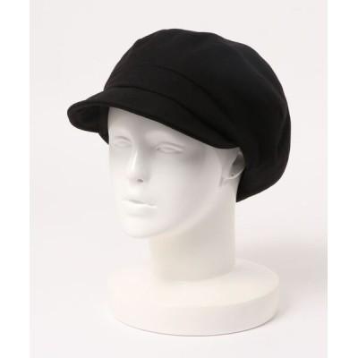 polcadot / チェック&ブラック キャスケット MEN 帽子 > キャスケット