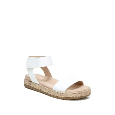 ソウルニュトライザー レディース サンダル シューズ Detail Ankle Strap Sandal - Wide Width Available WHITE
