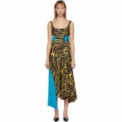 マリーン セル Marine Serre レディース ワンピース ワンピース・ドレス Multicolor Spotted Dress Amphibian zebra