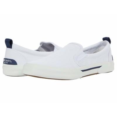 スペリー スニーカー シューズ レディース Pier Wave Twin Gore White