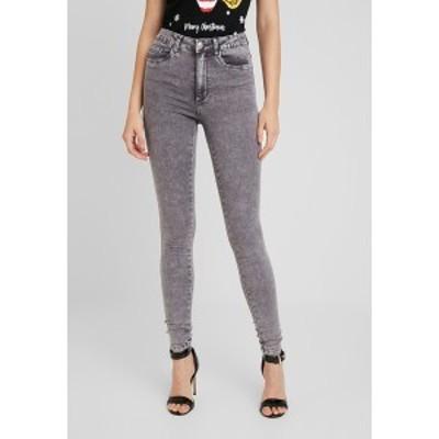 オンリー レディース デニムパンツ ボトムス Jeans Skinny Fit - grey denim grey denim