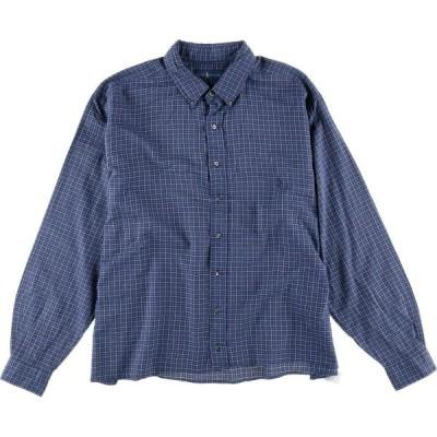JAMリメイク ラルフローレン チェックシャツ XXL /eaa017620