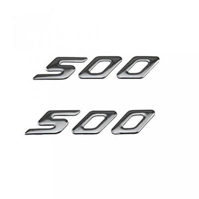全国配送料無料!3 D オートバイの PRO KODASKIN ヤマハ T MAX500 TMAX500 の 500 のエンブレム ステッカー デカールを上げる (シルバー) 海外正規流通品
