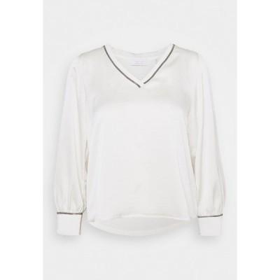 リッチ アンド ロイヤル シャツ レディース トップス BLOUSE - Blouse - pearl white