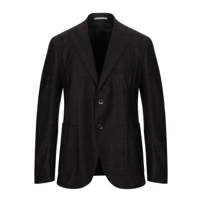 イレブンティ ELEVENTY テーラードジャケット ココア 50 ウール 89% / シルク 6% / カシミヤ 5% テーラードジャケット
