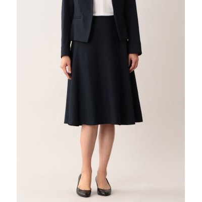 MACKINTOSH LONDON/マッキントッシュ ロンドン  ラスタートリアセテートスカート ネイビー 40