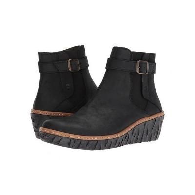El Naturalista エルナチュラリスタ レディース 女性用 シューズ 靴 ブーツ アンクルブーツ ショート Myth Yggdrasil N5133 - Black