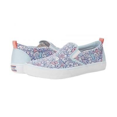 BOBS from SKECHERS ボブス スケッチャーズ レディース 女性用 シューズ 靴 スニーカー 運動靴 Marly Jr - Woof Wag - Blue/Pink