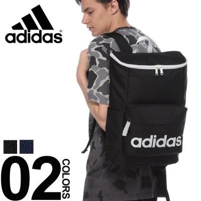 アディダス リュック adidas バッグ ロゴプリント デイパック ボックス型 バックパック 4789400