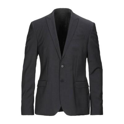 ビッケンバーグ BIKKEMBERGS テーラードジャケット スチールグレー 50 ウール 100% テーラードジャケット
