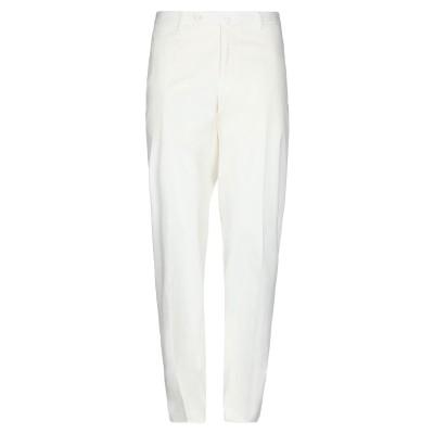 インコテックス INCOTEX パンツ ホワイト 38 コットン 85% / シルク 11% / ポリウレタン 4% パンツ