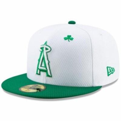 New Era ニュー エラ スポーツ用品  New Era Los Angeles Angels White/Kelly Green 2019 St. Patricks Day On-Field 59FIFTY