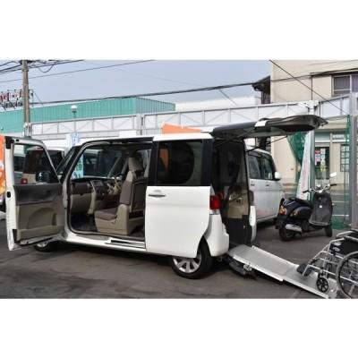 タント 660フレンドシップスローパー リヤシート付 電動固定装置エコアイドルナビ地デジTV