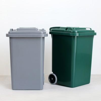 DULTON ダルトン|PLASTIC TRASH CAN 45L(GRAY)