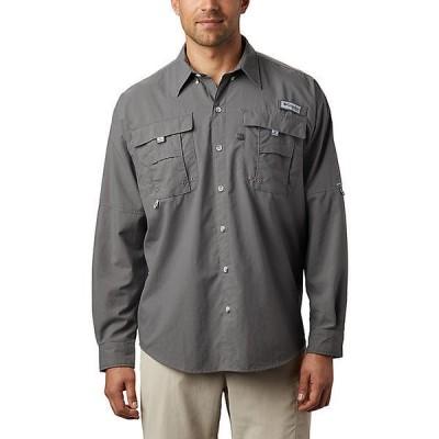 (取寄)コロンビア メンズ バハマ 2 ロングスリーブ シャツ Columbia Men's Bahama II LS Shirt City Grey 送料無料