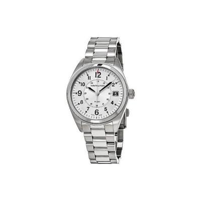腕時計 ハミルトン Hamilton メンズ H68551153 カーキ Field アナログ ディスプレイ スイス クォーツ シルバー 腕時計