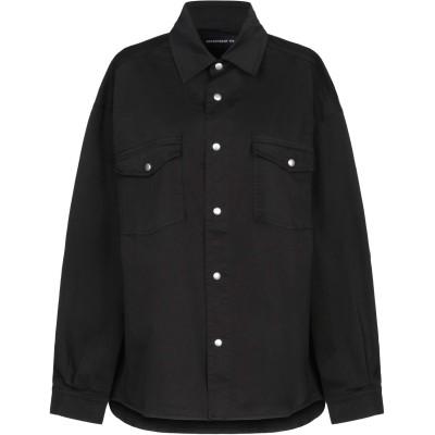 デパートメント 5 DEPARTMENT 5 シャツ ブラック S コットン 100% シャツ