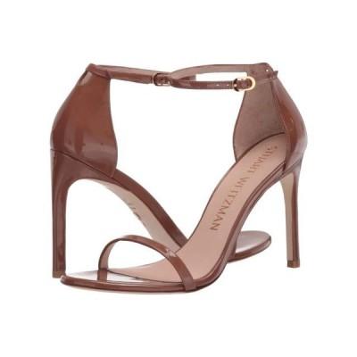 スチュアート ワイツマン ユニセックス ヒール Nudistsong Ankle Strap Sandal
