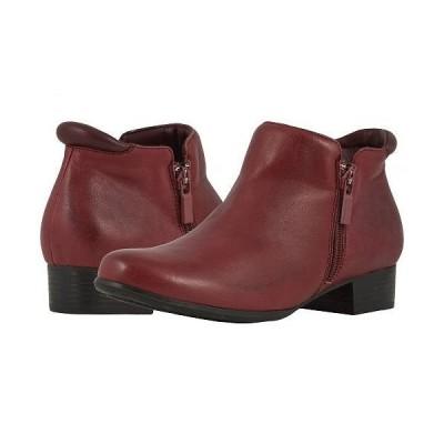 Trotters トロッターズ レディース 女性用 シューズ 靴 ブーツ アンクルブーツ ショート Major - Dark Red