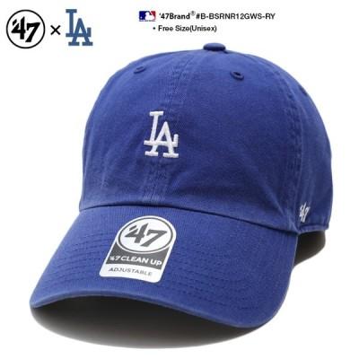 フォーティーセブンブランド 47BRAND ローキャップ 帽子 ロサンゼルス ドジャース MLB公式 青