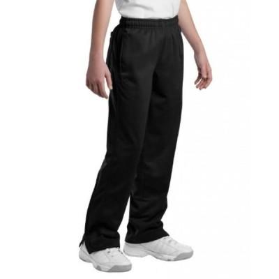 キッズ用サッカーグッズ スポーツ遊具  Sport-Tek YPST91 Youth Tricot Track Pants - Black - S 正規輸入品
