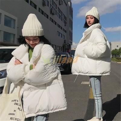 ダウンコートコート中綿レディースダウンジャケットコート秋冬厚手ダウンコート中綿ロング丈大きいサイズ大きいサイズ暖かい