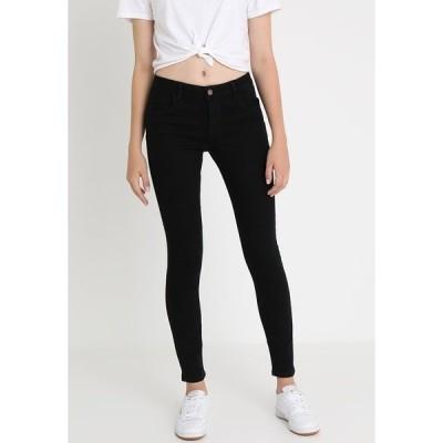 オンリー デニムパンツ レディース ボトムス ONLDAISY PUSHUP - Jeans Skinny Fit - black denim
